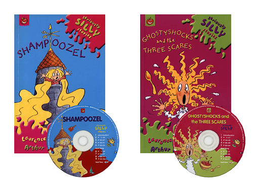 【麥克書店】Ghostyshocks and the Three Scares & Shampoozel/2書+2CD