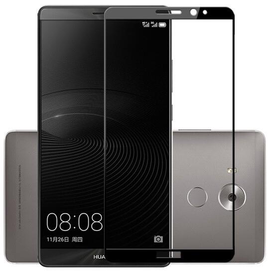 Huawei 華為 Mate 8 / Mate 9 / Mate S 絲印保護貼 透明鋼化玻璃膜 螢幕保護不碎邊