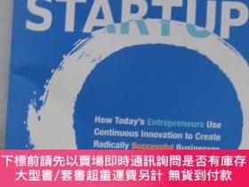 二手書博民逛書店The罕見Lean Startup 精益創業 英文原版Y21650 Eric Ries埃裏克·萊 Curren
