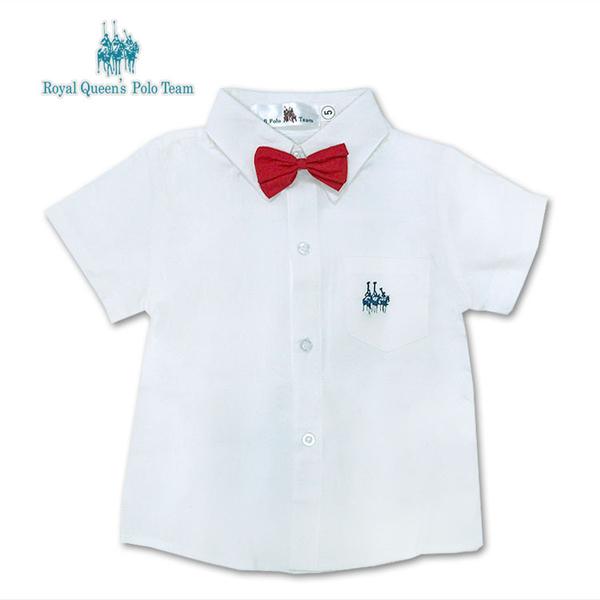 白襯衫 紅領結 幼兒園 畢業 穿搭 [41038]RQ POLO 小童 男童 5-17碼 春夏 童裝 現貨