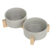 寵物碗 貓碗貓食盆寵物狗碗陶瓷碗大號雙碗單碗防打翻喝水碗狗狗貓咪用品 雙十一特惠