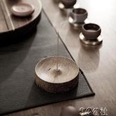 香座 一條迷你家用香爐純銅線香香插創意檀香爐插香器香托簡約禪意 3C公社