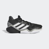 Adidas Harden Stepback J [EF9905] 大童鞋 運動 籃球 透氣 緩衝 彈跳 愛迪達 黑白