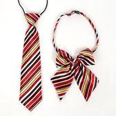 618年㊥大促 新品兒童小孩英倫男童女童小學生中學校服表演領花領結領帶套裝
