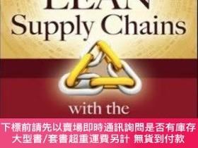 二手書博民逛書店Building罕見Lean Supply Chains With The Theory Of Constrain