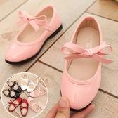 蝴蝶結氣質公主鞋 娃娃鞋 軟膠底  橘魔法Baby magic 現貨 童鞋 兒童 禮服 皮鞋