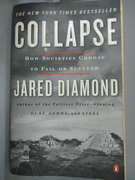 【書寶二手書T3/社會_IMO】Collapse: How Societies Choose to Fail or Su