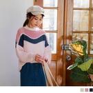 寬鬆版型 採用針織有羊毛成份毛線使穿著舒適保暖, 搭配裙裝或褲裝即可時尚有型~