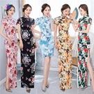 春夏季新款改良版旗袍顯瘦修身年輕款連身裙...