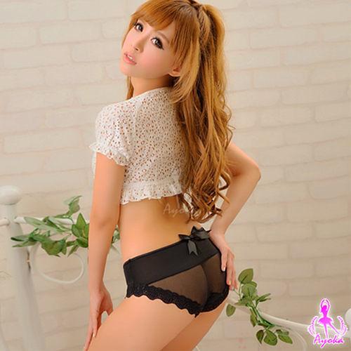 【伊莉婷】唯一寵愛!俏麗柔美內褲(黑)