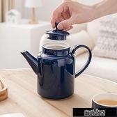 茶具茶壺陶瓷家用泡茶大容量瓷茶壺大號單壺陶瓷壺茶杯套裝