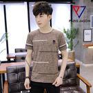 【CH081】黑白橫條上衣上衣 T恤 襯衫 素T 短袖 大尺碼