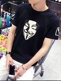 雙十一返場促銷夏季韓版日系男士T恤男短袖圓領修身體恤半袖衣服男裝打底衫潮流
