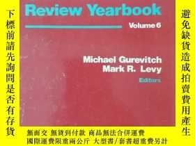 二手書博民逛書店MASS罕見COMMUNICATION REVIEW YEARBOOK volume 6 (大眾傳播評論年鑒 第6