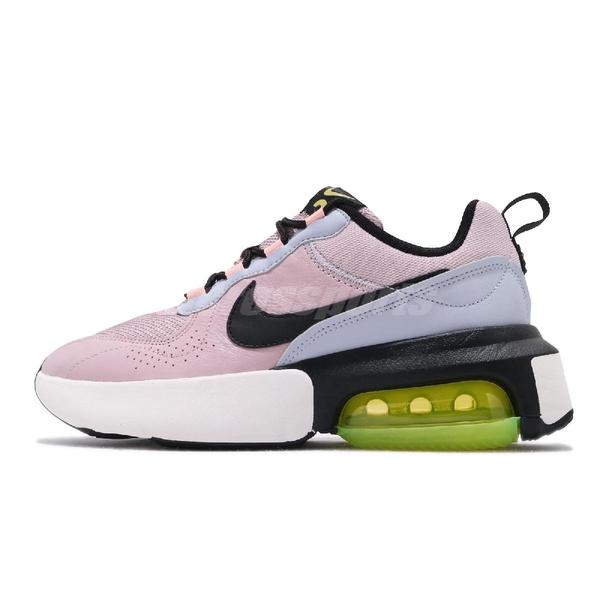 Nike 休閒鞋 Wmns Air Max Verona 紫 黑 螢光綠 厚底 增高 女鞋 鄧紫棋 G.E.M 著用【PUMP306】 CI9842-500