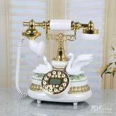 復古電話機TQJ新款歐式電話機座機家用固定復古創意老式仿古時尚8615JD新年提前熱賣