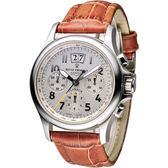 梭曼 Revue Thommen AIRSPEED系列大視窗計時腕錶 16085.6532