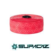 SUPACAZ 美國Super Sticky Kush高性能手把帶 單色系列 紅黑【好動客】