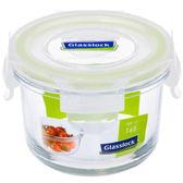 GL強化玻璃保鮮盒-圓型(165ml)【愛買】
