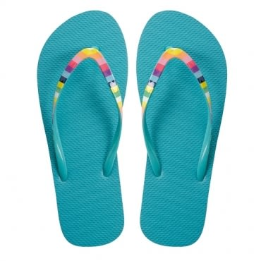 HOLA home舒活夾腳拖鞋 繽紛藍色 L