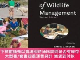 二手書博民逛書店Human罕見Dimensions Of Wildlife ManagementY255174 Daniel