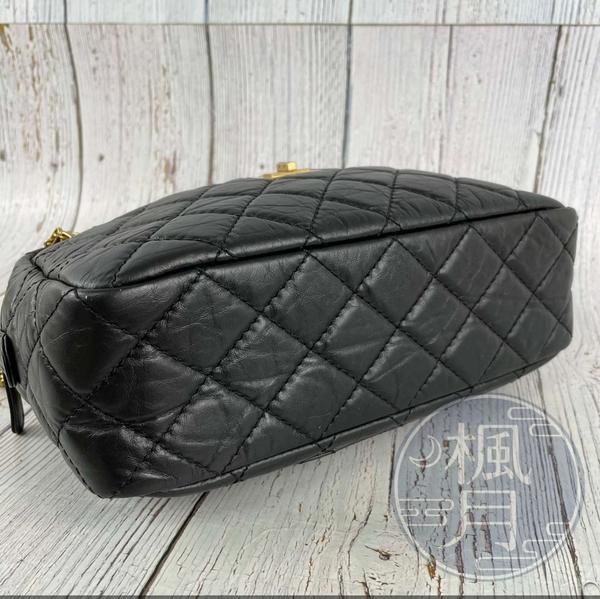 BRAND楓月 CHANEL 香奈兒 A65169 25番 2.55牛皮金鍊相機包 做舊 金鍊 菱格紋 手提包 肩背包