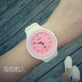 手錶女學生正韓簡約防潑水夜光糖果色果凍錶學生潮流石英錶WY熱賣夯款