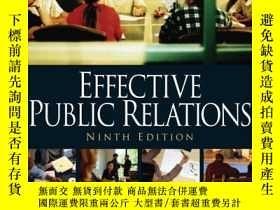 二手書博民逛書店Effective罕見Public RelationsY256260 Scott M. Cutlip Pren