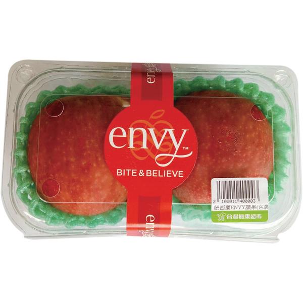 紐西蘭envy蘋果2入裝(約450g)
