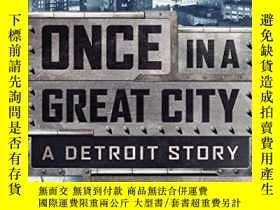 二手書博民逛書店Once罕見In A Great City-曾經在一個偉大的城市Y436638 David Maraniss