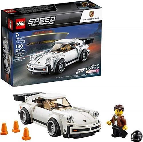 LEGO 樂高  Speed Champions 1974 Porsche 911 Turbo 3.0 75895 Building Kit, New 2019 (179 Pieces)