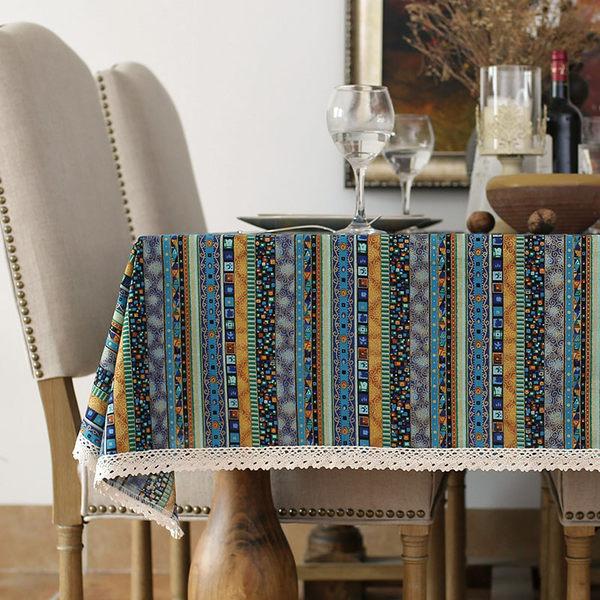 時尚優雅空間餐桌布 茶几布 隔熱墊 鍋墊 杯墊 餐桌巾66 (90*140cm)