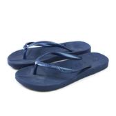 MALVADOS PLAYA 普拉雅系列 夾腳拖 人字拖 拖鞋 雨天 深藍色 女鞋 1001-1209 no020