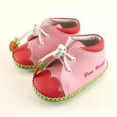 【愛的世界】胡蘿蔔寶寶鞋(高筒)/學步鞋-台灣製- ★童鞋童襪