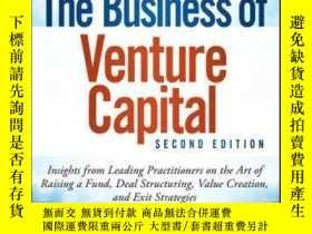 二手書博民逛書店The罕見Business of Venture Capital: Insights from Leading P