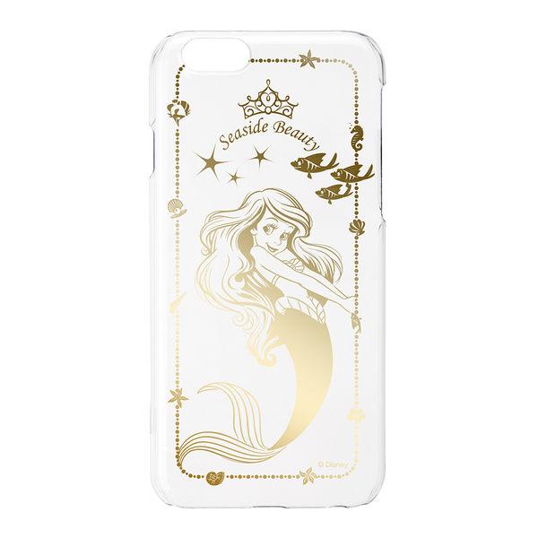 尼德斯Nydus~* 日本正版迪士尼 透明系列 小美人魚 愛麗兒 硬殼 手機殼 4.7吋 iPhone6 6S