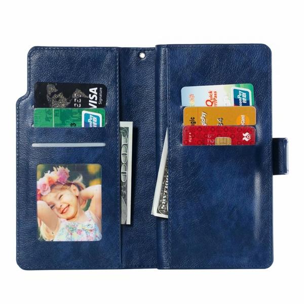 三星 Note9 Note8 S9 S9 Plus S8 Plus S8 九插卡商務皮套 手機皮套 插卡 支架 手機殼 保護套 掀蓋殼