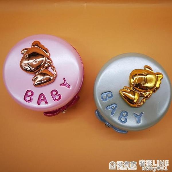 生肖馬乳牙盒女孩紀念兒童換牙收納盒寶寶胎發保存收藏裝牙齒盒子 全館鉅惠
