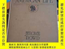 二手書博民逛書店THE罕見NEGRO IN AMERICAN LIFE 美國生活