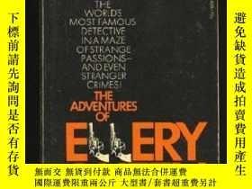二手書博民逛書店The罕見Adventures Of Ellery QueenY256260 Ellery Queen Sig