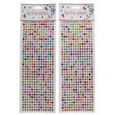鑽貼 水鑽貼紙 鑽石貼紙 6mm  504顆入/一張入(促30) 指甲貼鑽 手機貼紙-YF16529