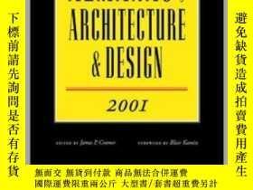 二手書博民逛書店Almanac罕見of Architecture & Design, 2001-建築設計年鑒,2001Y443