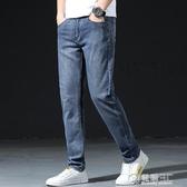 秋冬季男士牛仔褲直筒寬鬆2020新款潮休閒冬天修身長褲子男 雙十一全館免運