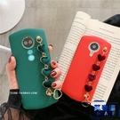 紅色愛心手腕帶美圖手機殼全包軟殼保護套【英賽德3C數碼館】