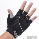 健身手套男女夏季透氣器械訓練運動護腕半指動感單車防滑鍛煉裝備 花樣年華