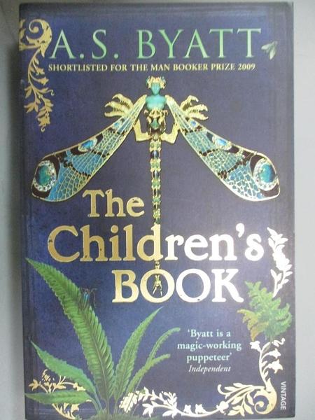 【書寶二手書T1/原文小說_JOF】The Children's Book_A.S. Byatt