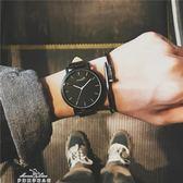 韓國原宿風ulzzang大錶盤手錶男女學生韓版簡約時尚潮流復古男錶『夢娜麗莎精品館』