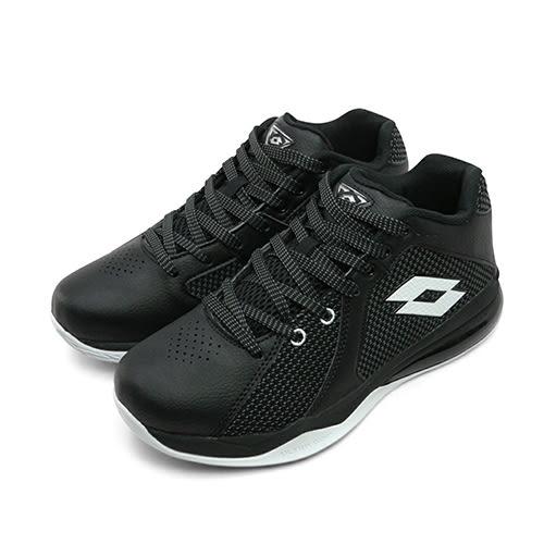 LIKA夢 LOTTO 專業飛織氣墊籃球鞋 Vortex 旋風系列 黑白 5770 男