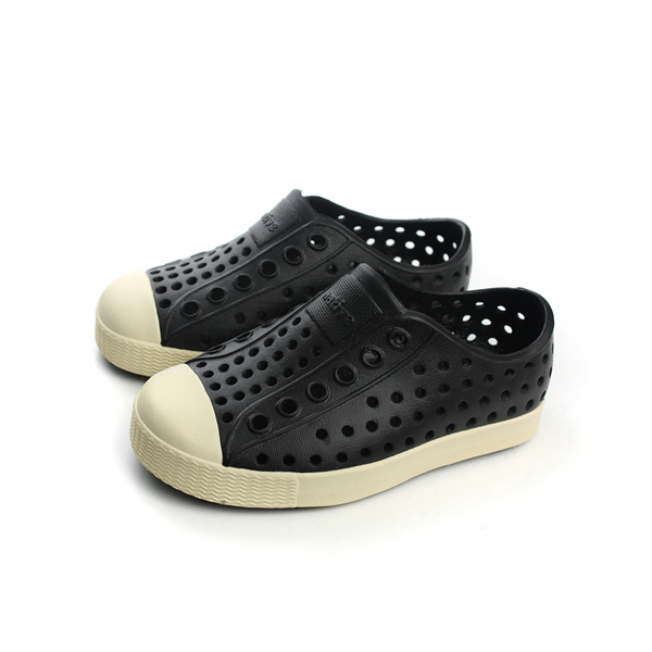 native JEFFERSON CHILD 懶人鞋 洞洞鞋 防水 雨天 黑色 童鞋 小童 13100100-1100 no307