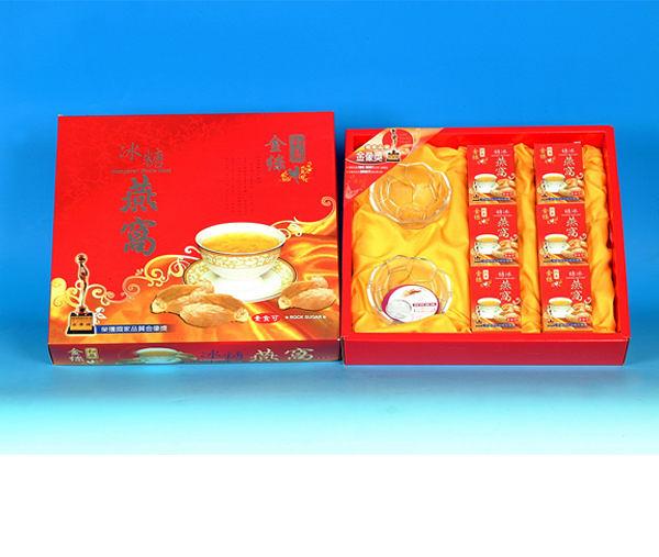 和展 金絲冰糖燕窩禮盒 (70g*6入 / 單盒)【杏一】